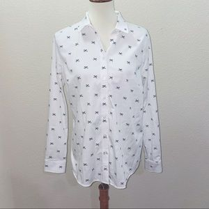 Banana Republic Factory Tailored Fit Blouse 12
